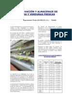 Conservacion y Almacenaje de Frutas y Verduras Frescas