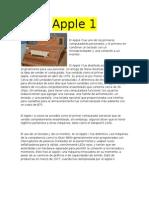 Apple 1 Alarco1as