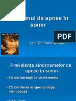 10. Sindromul de Apnee in Somn Curs Nou