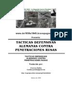 Tacticas Defens Alemanas Contra Penetraciones Rusas