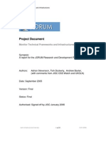 JORUM Research and Development