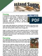 Qld Sugar Factsheet