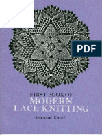 First Book of Modern Lace Knitting Tabletici Mamini