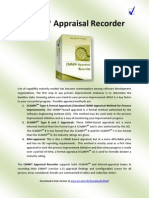 CMMI® Appraisal Recorder (SCAMPI, mini-assessments)