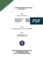 K1 P2 Teknik Komunikasi Visual Baliho (Afrodita Indayana
