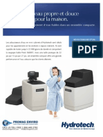 Water Softeners Residential Mini Cabinet Softeners Canadian FRENCH Brochure