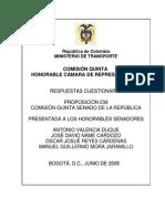 Respuestas MinTransporte Proposicion 039 - Debate Metroplus