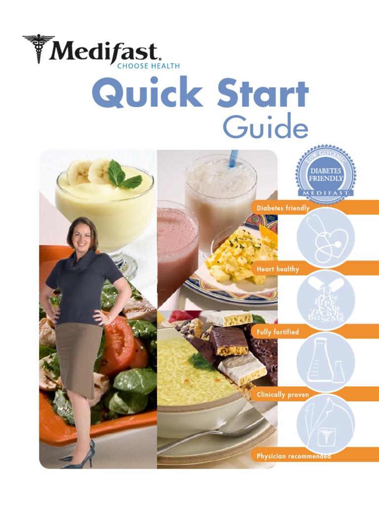 medifast quick start guide weight loss dieting rh scribd com Quick Installation Guide Windows 8 Quick Start Guide