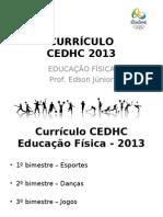 Curriculo Cedhc 2013 - 1o Bimestre_final
