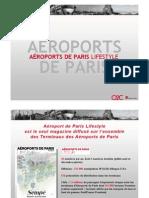 Mediakit Aeroports de Paris LifeStyle Magazine