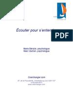 45702080 Ecouter Pour s Entendre