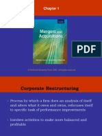Chapter 1 Corporate Restructuring