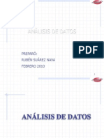 Analisis de Datos Introduccion
