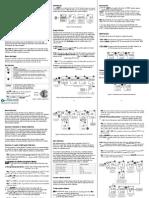 LaMotte 5-0082 Conductivity Waterproof EC Dual Range Tester Instructions