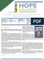 HopeEd Mar 2013 Newsletter