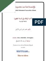 Etiquette vh huwelijk islam