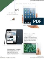 Apple - iPad Mini - Un Gran iPad, En Menos Pulgadas