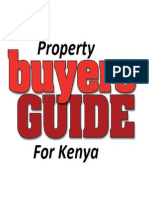 Guide on How to Buy Land or Property in Kenya