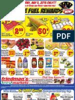 Friedman's Freshmarkets - Weekly Specials - May 2 - 8, 2013