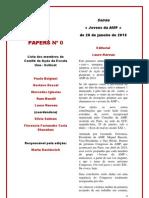 PAPERS  N-¢Âª 0 TRADUCIDO PORTUGUES