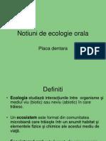 Curs 9.Notiuni de Ecologie Orala