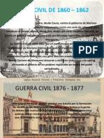 GUERRA CIVIL DE 1860 – 1862