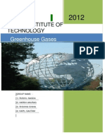 Project on Greenhouse Gases