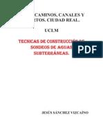 TEMA 4 tecnicas de construccion de sondeos aguas subterráneas