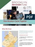 Brooklyn Recovery Fund Presentation Spring 2013