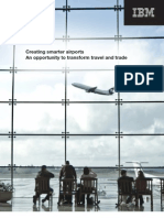 IMB Creating Smarter Airports - An Opportunity to Transform Travel TTW03003USEN