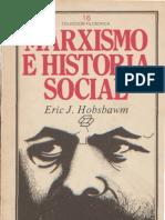 Hobsbawm Marxismo e Historia Social PDF