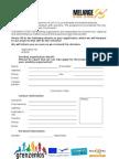 Application Form Melange