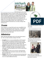 Ministry Guide Sheet 2013