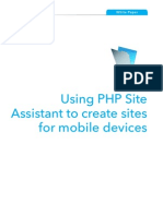 Mobile-Website Using Php