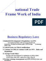 14 Intl Trade Frame Work of India