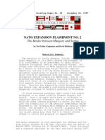 Nato Expansion Flashpoint No. 2