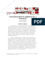 Nato Expansion Flashpoint No. 3