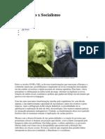 Liberalismo x Socialismo