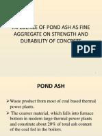 Pond Ash Concrete