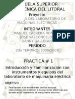 Prácticas Visuales Lab. Maq. Elc. (Parte 1)