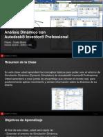Análisis Dinámico con Autodesk® Inventor® Professional