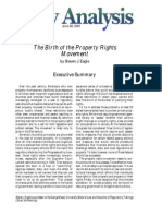 The Birth of the Property Rights Movement, Cato Policy Analysis No. 404