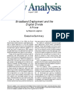 Broadband Deployment and the Digital Divide