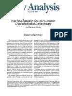 How FDA Regulation and Injury Litigation