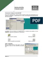 01- Iniciando AutoCAD Interfaz