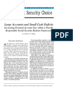 Large Accounts and Small Cash Deficits