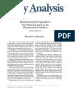 Demonizing Drugmakers