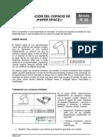 25-Configuración del Espacio Papel (Paper Space)