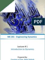 Lec 1 Dynamic
