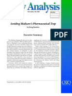 Avoiding Medicare's Pharmaceutical Trap, Cato Policy Analysis No. 556